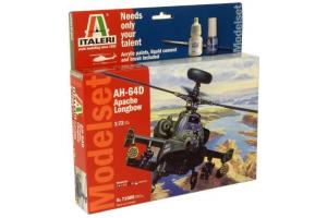 Model Set vrtulník 71080 - 1:72 AH-64D Apache Longbow (1:72)
